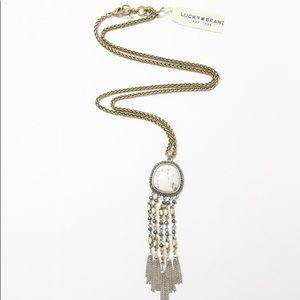 Lucky Brand Tassel Necklace